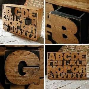 创意无限时尚家具打造属于自己的字母王国营口